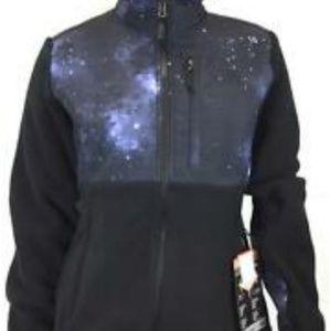 Galaxy fleece jacket